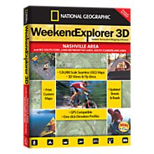 Weekend Explorer 3D - Nashville Area and Big South Fork, Land Between the Lakes, South Cumberland Area