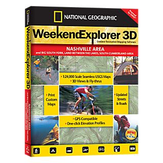 photo: National Geographic Weekend Explorer 3D - Nashville Area CD-ROM