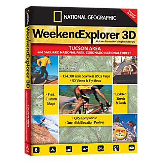 National Geographic Weekend Explorer 3D - Tucson Area CD-ROM
