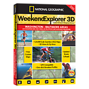 Weekend Explorer 3D - Washington - Baltimore Areas and Chesapeake Bay, C & O Canal, No. Blue Ridge and Allegheny Mountains