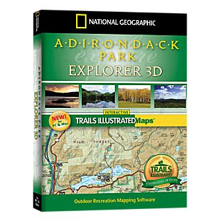 National Geographic Adirondack Park Explorer 3D CD-ROM