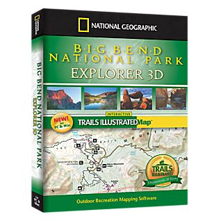 photo: National Geographic Big Bend National Park Explorer 3D CD-ROM us south map application