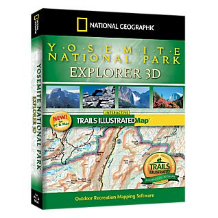 photo: National Geographic Yosemite National Park Explorer 3D CD-ROM us pacific states map application