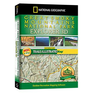 National Geographic Great Smoky Mountains National Park Explorer 3D CD-ROM