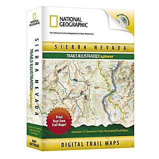 National Geographic Sierra Nevada Explorer CD-ROM