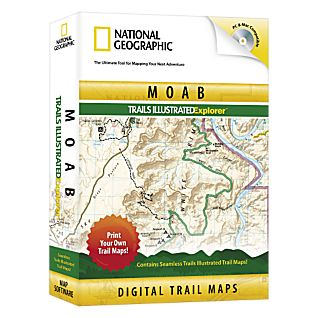 photo: National Geographic Moab Explorer CD-ROM us mountain states map application