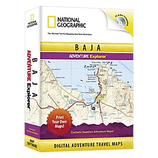 photo: National Geographic Baja Explorer CD-ROM international map application