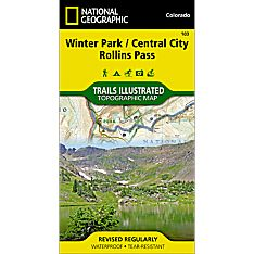 103 Winter Park/Central City/Rollins Pass Trail Map, 2006