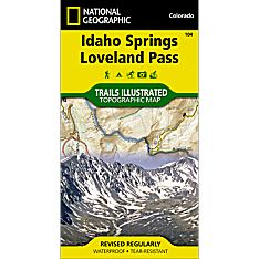 104 Idaho Springs/Loveland Pass Trail Map, 2003