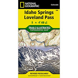 104 Idaho Springs/Loveland Pass Trail Map