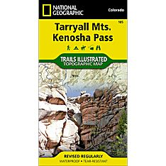 105 Tarryall Mountains, Kenosha Pass Trail Map