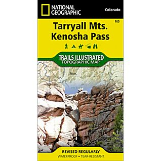 National Geographic Tarryall Mountains/Kenosha Pass Trail Map