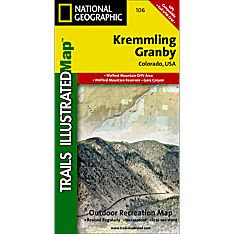 106 Kremmling/Granby Trail Map, 2007