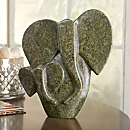 African Shona Elephant Sculpture