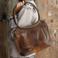Handcrafted Handbags - Handcrafted Bolivian Leather Bag
