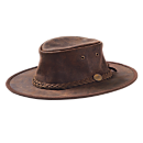 Australian Leather Bush Hat