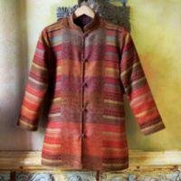 Cardigan Jacket - Indian Reversible Jamavar Jacket