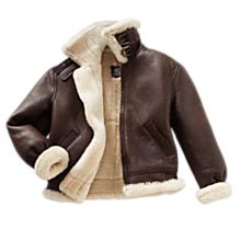 Men's Sheepskin B-3 Flight Jacket