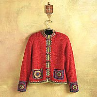 Mongolian-Style Mountain Cardigan