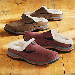 Men's Sheepskin-lined Travel Shoes