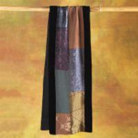 Vintage Scarves - Vintage Kimono Silk Scarf