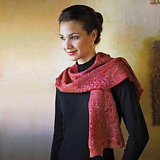 View Jamavar Wool Scarf image