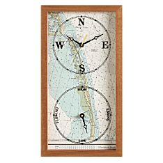 Handcrafted Personalized Nautical Tide Clock