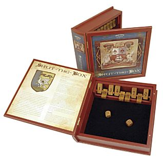 View Shut the Box Game - Bookshelf Edition image