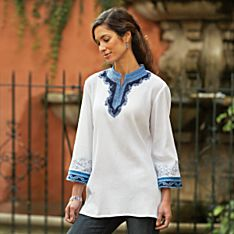 100% Cotton Orissa Cloud Tunic