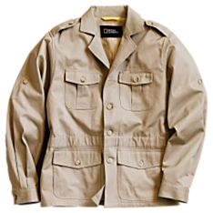 Men's Modern Safari Jacket