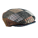 Irish Donegal Tweed Cap