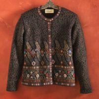 Alpaca Sweater - Andean Blossom Alpaca Sweater