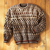 Andean Mountain Alpaca Sweater
