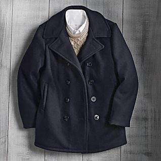 Wool U.S. Navy Peacoat