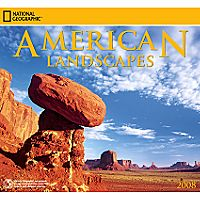 2008 National Geographic American Landscapes Wall Calendar