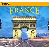 2008 National Geographic France Wall Calendar