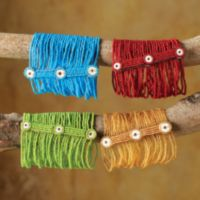 Kenyan Multistrand Beaded Bracelets