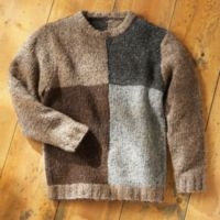 Donegal Sweaters - Men's Irish Donegal Tweed Sweater