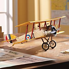World War I British Sopwith Camel Model Plane
