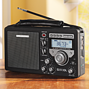 Deluxe AM/FM Shortwave Field Radio