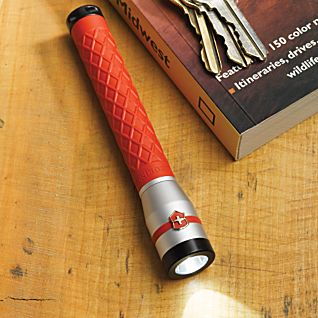 View Red Swiss Army LED Flashlight image