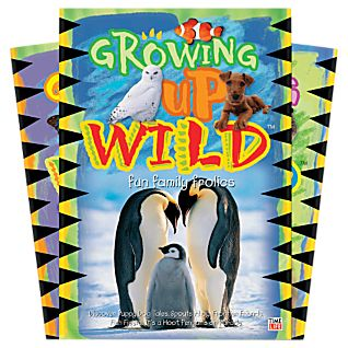 View Growing Up Wild Kids 3 DVD Set image