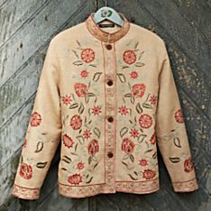Embroidered Jackets Women