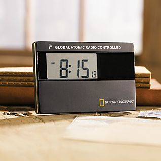 View National Geographic Mini Global Atomic Clock image