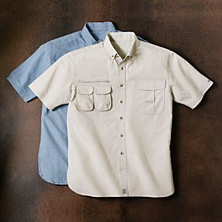 National Geographic Explorer's Cotton Travel Shirt