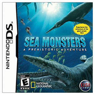 Sea Monsters a Prehistoric Adventure DS