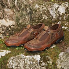 Mens Leather Travel Shoes