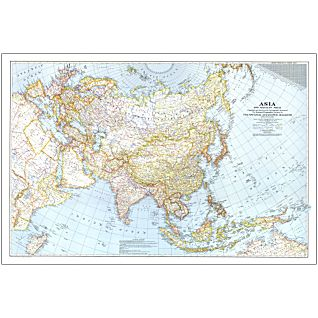 View 1942 Asia and Adjacent Areas Map, Laminated image