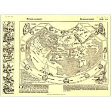 1493 Chronicon Nurembergense Map
