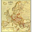 1921 Europe Map